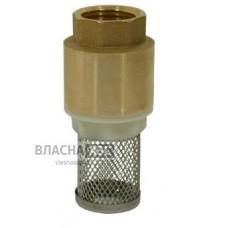 Зворотний клапан з фільтром грубого очищення