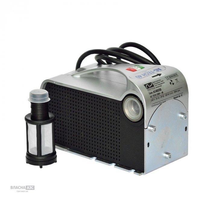 Насос для перекачування дизельного палива DC TECH,  12/24В, 40 л/хв