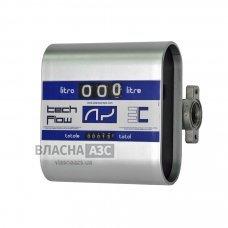 Счетчик расхода дизельного топлива, масла TECH FLOW 3C, 20-120 л/мин