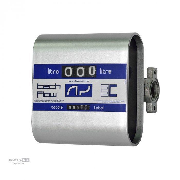 Лічильник витрати дизельного палива, масла TECH FLOW 3C, 20-120 л / хв