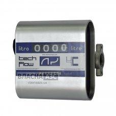 Счетчик учета выдачи дизельного топлива TECH FLOW 4C, 20-120 л/мин, +/-1%