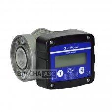 Електронний лічильник G FLOW для дизельного палива, масла, 5-120 л / хв, +/- 0.5%