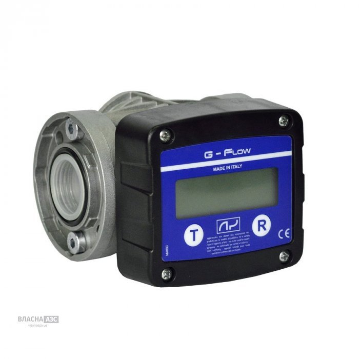 Электронный счетчик G FLOW для дизельного топлива, масла, 5-120 л/мин, +/-0.5%