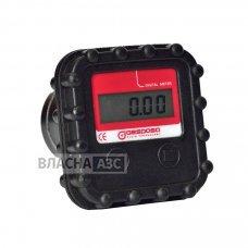 Електронний лічильник MGE-40 для дизельного палива, масла, 2-40 л / хв, +/- 0,5%, Іспанія