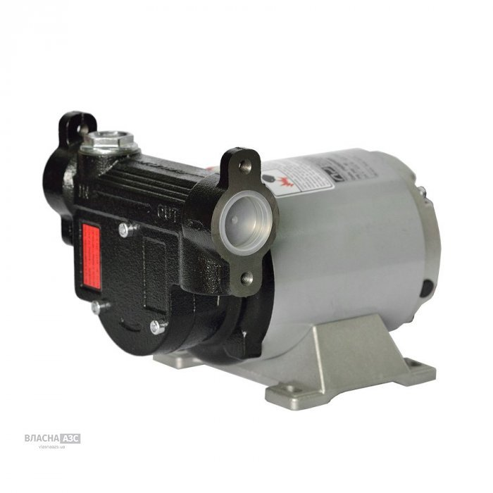 Насос для перекачки дизельного топлива PB1, 12/24В, 60 л/мин