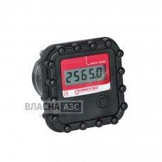 Електронний лічильник к/в MGE-40 для дизельного палива, масла