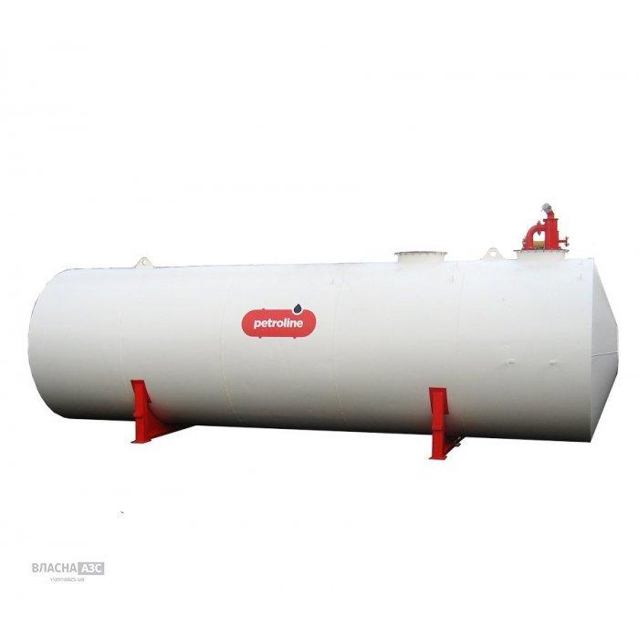 Резервуар для зберігання дизельного палива або бензину