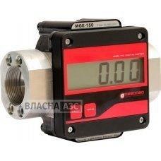 Электронный счетчик MGE-250 для дизельного топлива, масла, 10-250 л/мин, +/-0,5%, Испания.