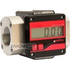 Електронний лічильник для великого протока MGE-400 для дизельного палива, масла, 15-400 л / хв, +/- 0,5%, Іспанія